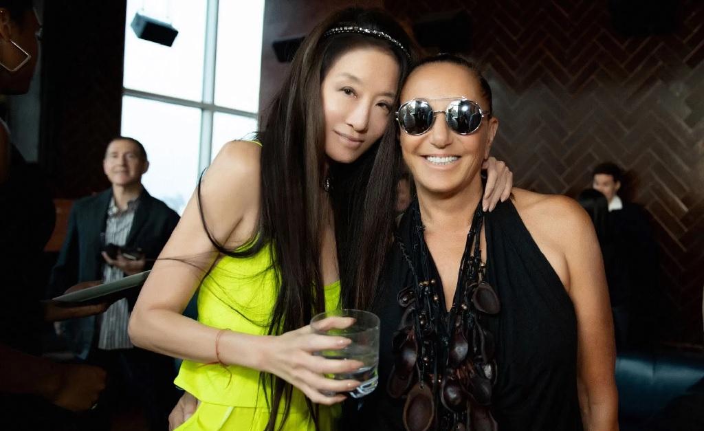 Vera Wang e Donna Karan