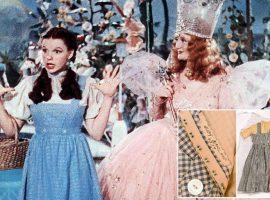 Sumido há quase cinco décadas, icônico vestido que Judy Garland usou em 'O Mágico de Oz' é encontrado dentro de depósito