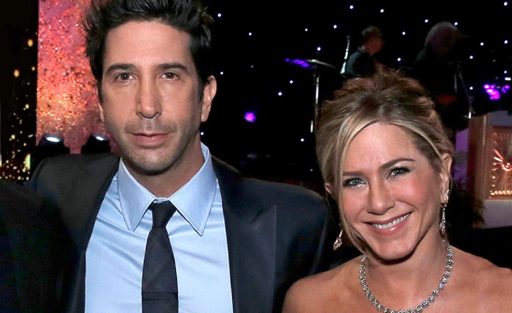David Schwimmer e Jennifer Aniston