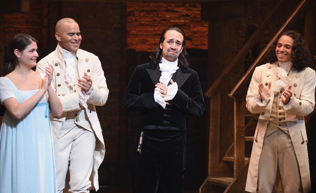 Astro e produtor do hit teatral 'Hamilton', Miranda é um dos mais ricos de lá