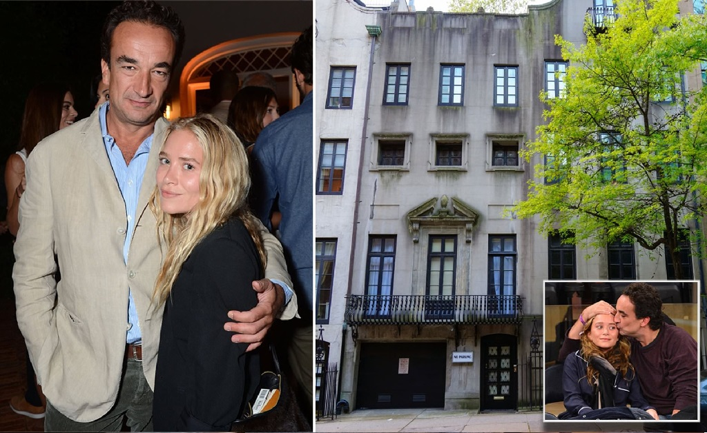 O ex-casal Olivier Sarkozy e Mary-Kate Olsen e a townhouse deles em NY