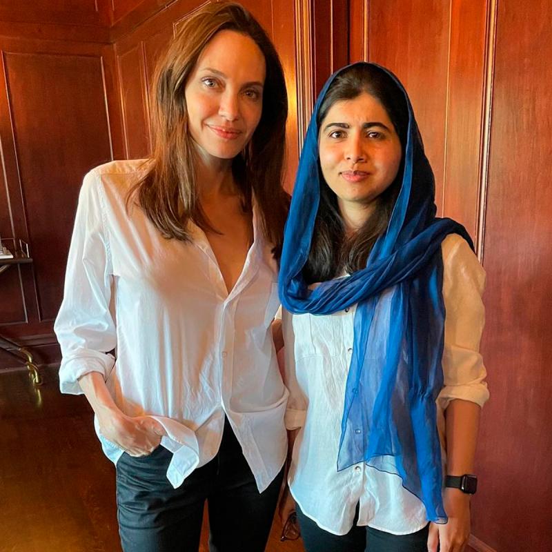 Angelina Jolie e Malala