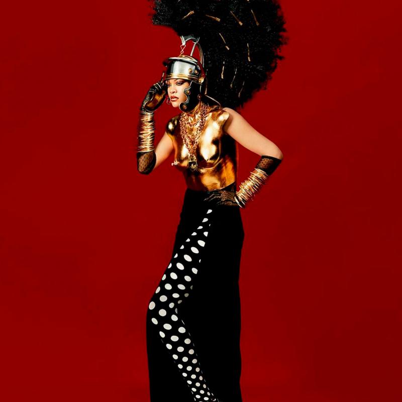 Rihanna. Reprodução/Dazed