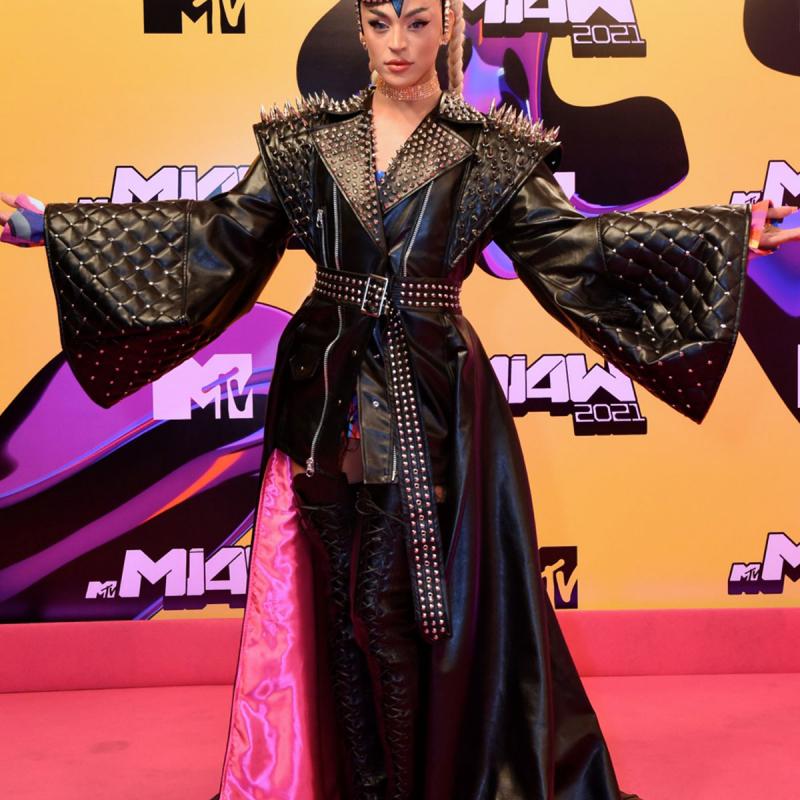 Pabllo Vittar no MTV Miaw