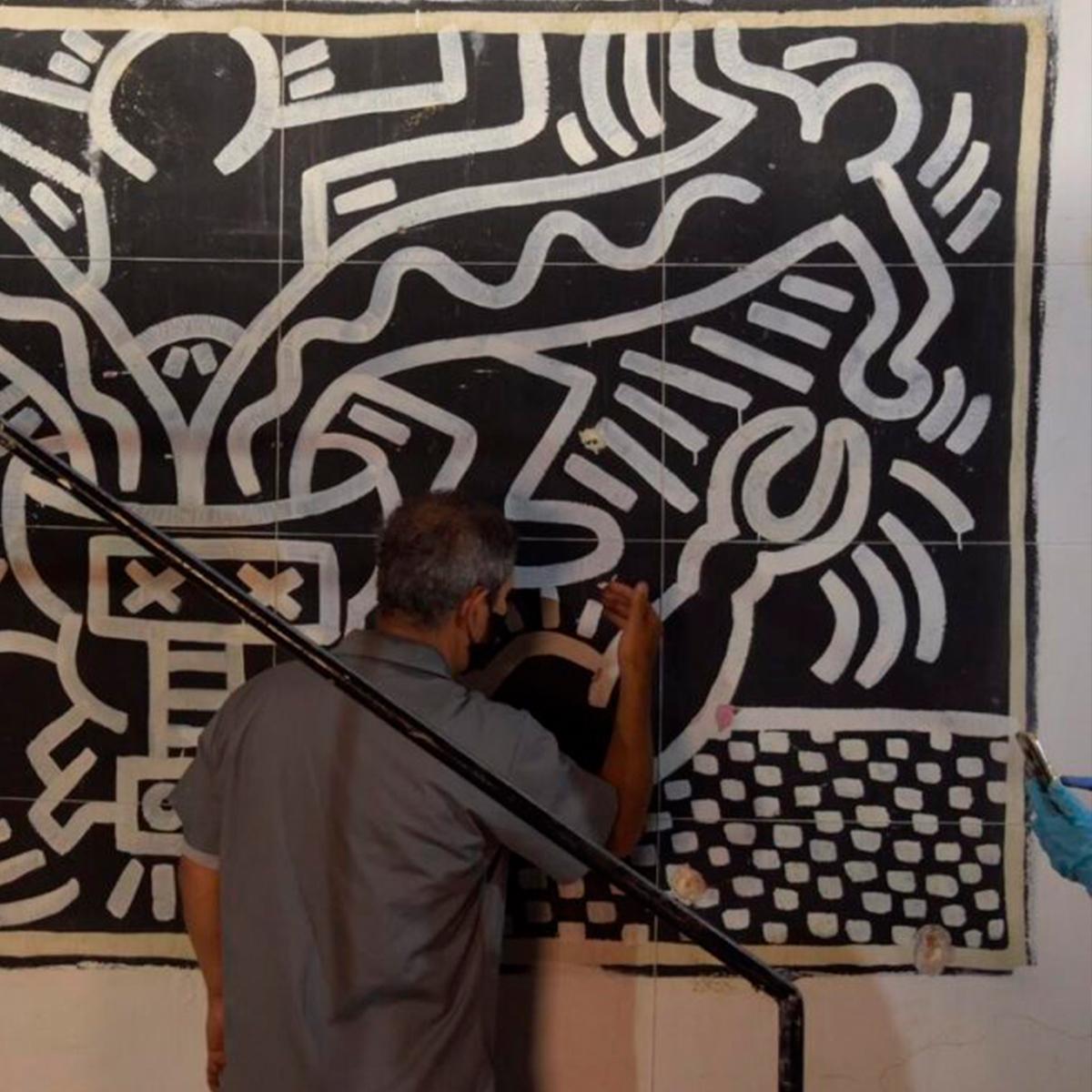 Mural Keith Haring