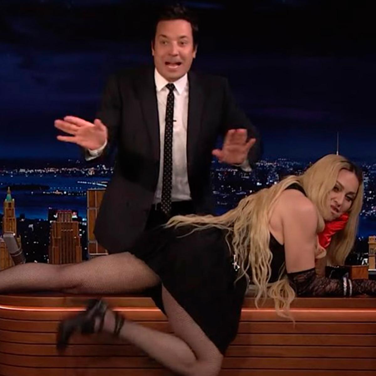 Madonna Jimmy Fallon's