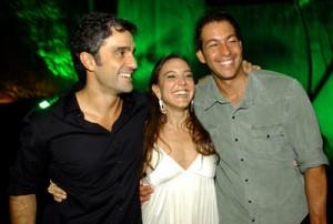 Aniversário Fernanda Camargo, Ernesto Simões e Renato Guedes