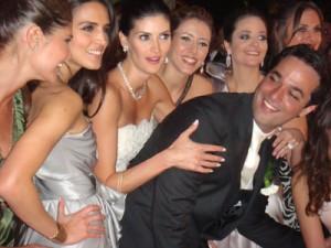 Detalhes da festa de casamento de Isabella Fiorentino