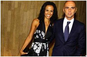 Casal: Janaína Santos e Marcus Elias