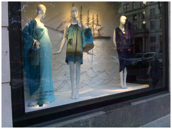 Tufi Duek na Bergdorf Goodman: fazendo bonito em Nova York