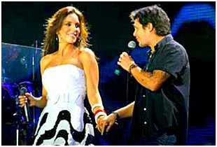 Ivete Sangalo e Alejandro Sanz no Rock in Rio Lisboa: cantora baiana está arrasando em Portugal