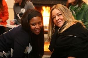 Naomi Campbell e Eliana Tranchesi