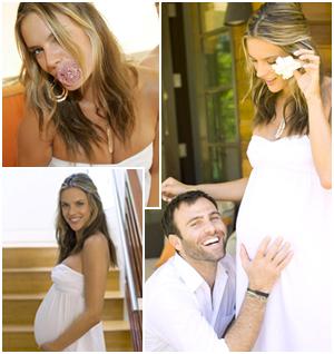 Alessandra Ambrosio e Jamie Mazur: só curtindo a gravidez