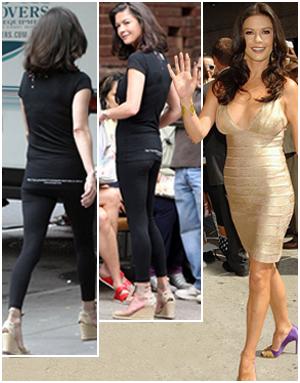 catherine Zeta-Jones aparece bem mais magra
