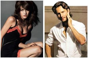 Camila Belle e Rodrigo Santoro posam para a Vanity Fair