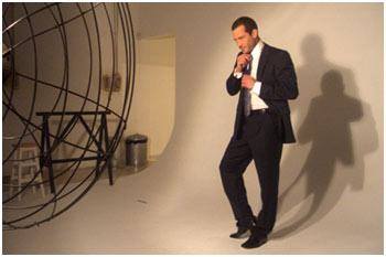 Making of de Mailvino Salvador na TV Glamurama