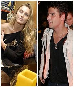 Eliza Joenck e Bruno Gagliasso: beijo aos quarenta e cinco do segundo tempo da festa de Lenny, no Rio