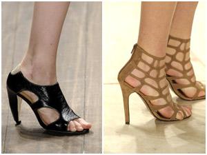 Tendência sapatos na SPFW