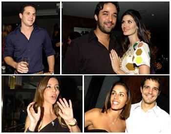 AJ, Stefano e Isabella, Cristiana, Paula e Rodrigo: festa fervida em São Paulo