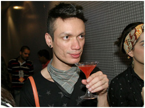 Splash: o maquiador Lu Ramos adorou a novidade.