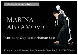 Marina Abramovic abre exposição na Brito Cimino