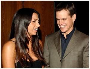 Após dez anos juntos, Matt Damon e Luciana Barroso sobem ao altar
