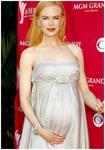 Nicole Kidman faz trilha-sonora para filho nascer
