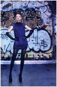 Iodice desfila na New York Fashion Week
