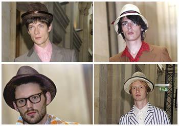 Tendência – chapéu para meninos