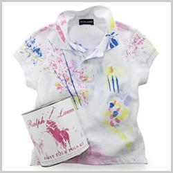 Ralph Lauren cria camiseta para as crianças pintarem – Notas – Glamurama ceaea53b2fc