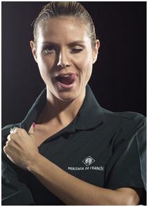 Heidi Klum para a Mercearia do Francês