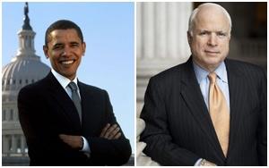 Barack Obama e John McCain vão parar em gibis