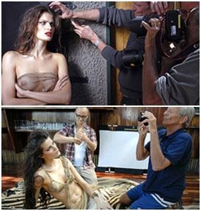 Veja Isabeli Fontana posando para o calendário Pirelli