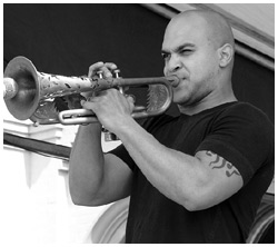 Irvin Mayfield: show no Ibirapuera