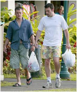 A amizade dos atores Ben Affleck e Matt Damon é tão grande