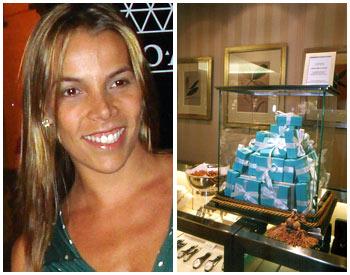 Regina Moraes Waib recebe amigas na Tiffany do Cidade Jardim