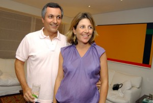 Beto Gonçalves e Aninha Gonzalez