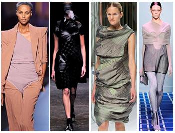 Tendência futurista predomina nos desfiles da Semana de Moda de Paris