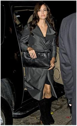 Angelina Jolie reaparece em Nova York