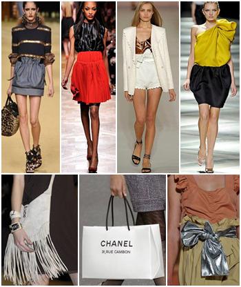 Modelos desfilam no encerramento da Semana de Moda de Paris