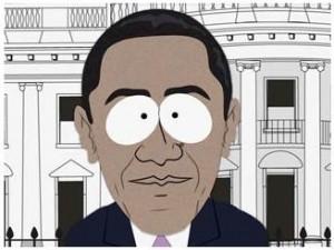 Obama em South Park