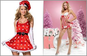 Marca produz fantasias, para elas, apostando no Natal