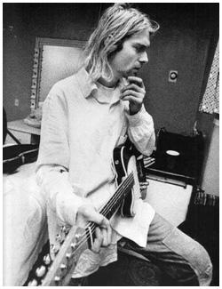 Kurt Cobain: guitarra leiloada