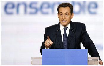 Sarkozy: guerra travada