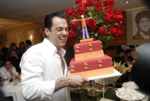 Aniversário Marco Antonio de Biaggi