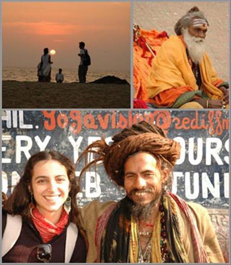Ana Helena Alves e sua aventura por Goa