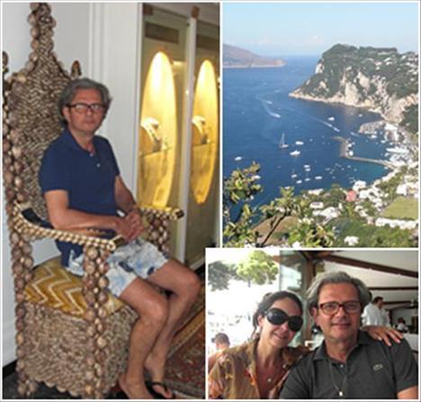 A charmosa Capri por Jorge Elias