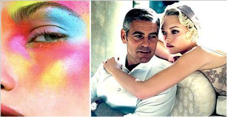Coisas que as mulheres gostam: maquiagem sexy e George Clooney, claro