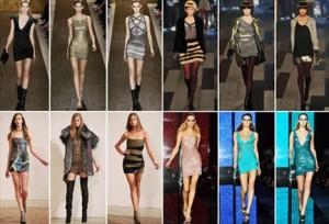 a crise financeira está influenciando até no tamanho da saia das mulheres