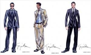 Giorgio Armani desenha roupas para novo filme de Clive Owen